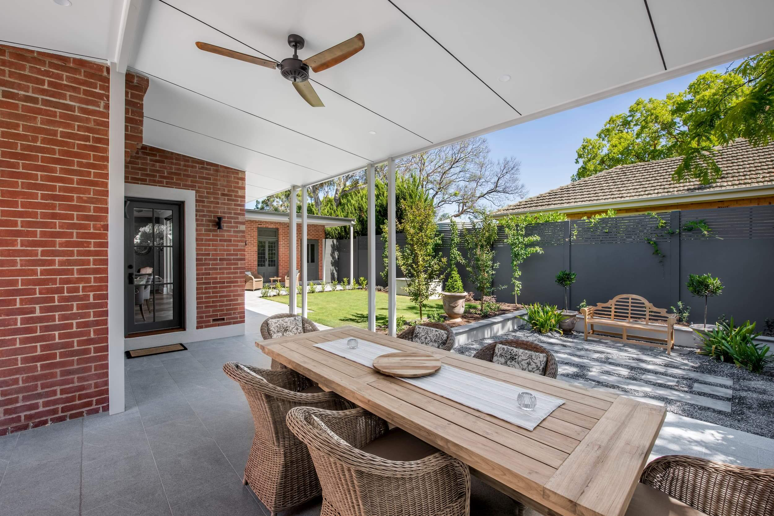 Weybridge House Custom Renovation Alfresco Adelaide