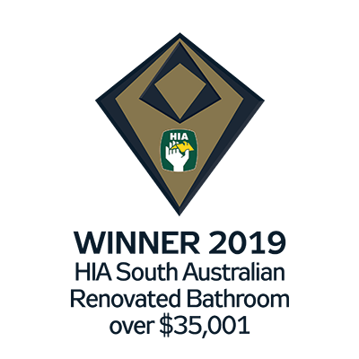 HIA South Australian Winner Renovated Bathroom Craig Linke Bespoke Building Adelaide